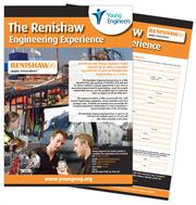 Renishaw engineering experience poster image