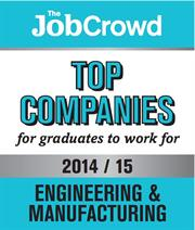 JobCrowd awards logo 2014/2015