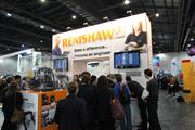 The Renishaw stand at the Big Bang Fair 2013