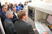 Opening of Renishaw's Cobalt Chrome dental framework facility